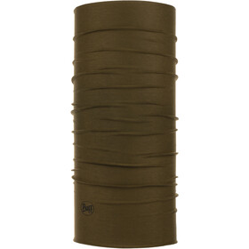Buff Coolnet UV+ Insect Shield Neck Tube, solid military